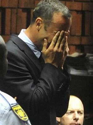 The murder trial of Paralympic sprinter Oscar Pistorius became one of the news stories of 2013