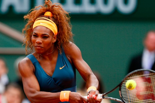 Serena Williams of the United States won her 16th Grand Slam title in Paris in 2013