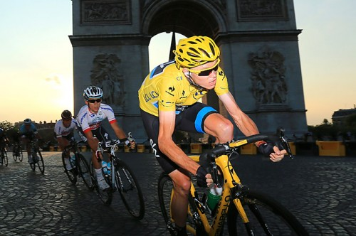 You wait 100 years for a British Tour de France winner and then two come along... Chris Froome followed Bradley Wiggins' 2012 victory by dominating the 2013 Tour