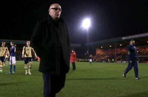 On his way out? Or back in? Brian McDermott has endured the strangest of times at Leeds United in the past week