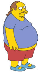 Pinned down: badge collectors in Sochi have an uncanny resemblance to Comic Book Guy from The Simpsons