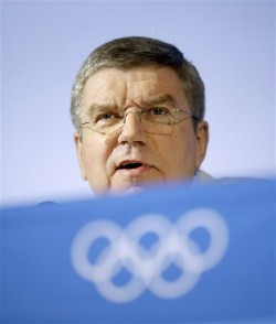 IOC president Thomas Bach: keen to keep onside with the world's press