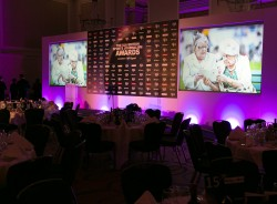 The Grand Hall at the Connaught Rooms were a fitting setting for the SJA's Sports Journalism Awards
