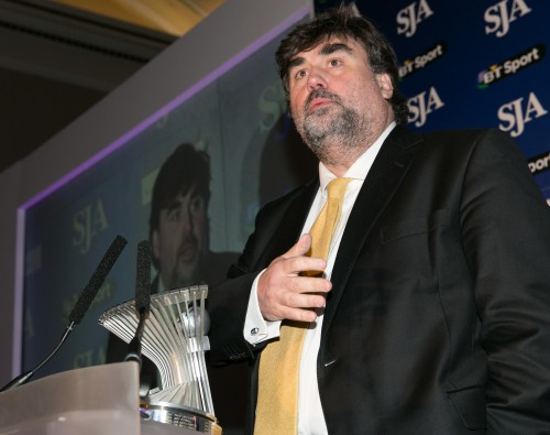 Martin Samuel has now been voted by the national sports editors five times as the Sportswriter of the Year