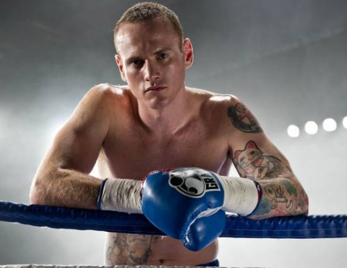 Knock-out guest: George Groves, having a second shot at Carl Froch's world title