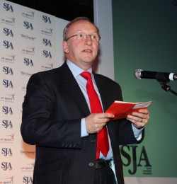 David Walker, the SJA chairman: who will be revealed as the winners at tonight's British Sports Journalism Awards?
