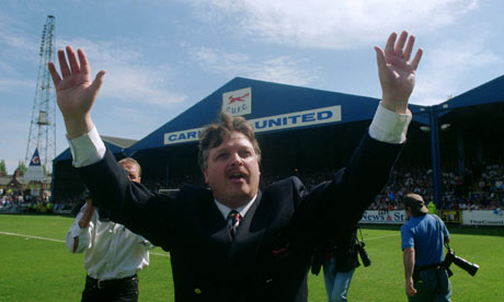 He's not the Messiah, he's a very...: Michael Knighton at Carlisle