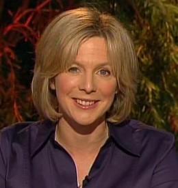 Polished presenter: Hazel Irvine