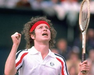 John McEnroe: Back in the 1980s, he was worth fighting over to get a story