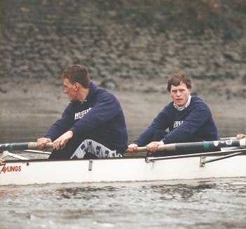 Two men in a boat: Matthew Pinsent recovered from having Malcolm Folley crewing in a Boat Race training session to go on to win four Olympic golds and 10 world titles