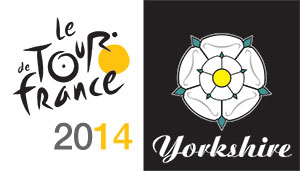 Tour de France Yorkshire logo
