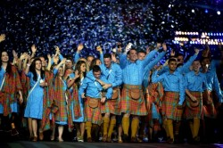 Last night's opening ceremony in Glasgow which, in the main, got the tone right