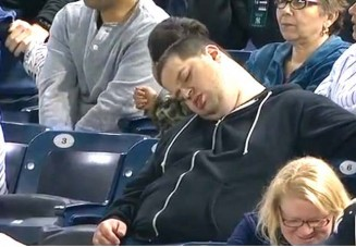 Forty winks in the fourth: Andrew Rector never expected his nap to go viral