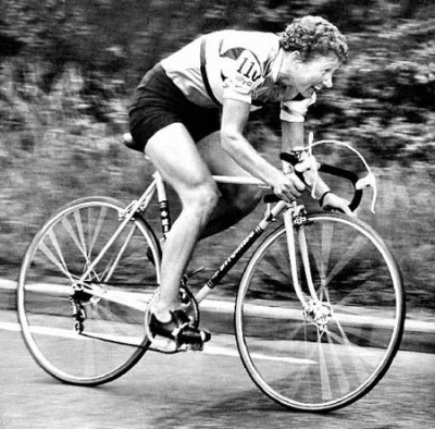 Beryl Burton in typically race-winning form in 1967, the year she was named as the SWA Sportswoman of the Year