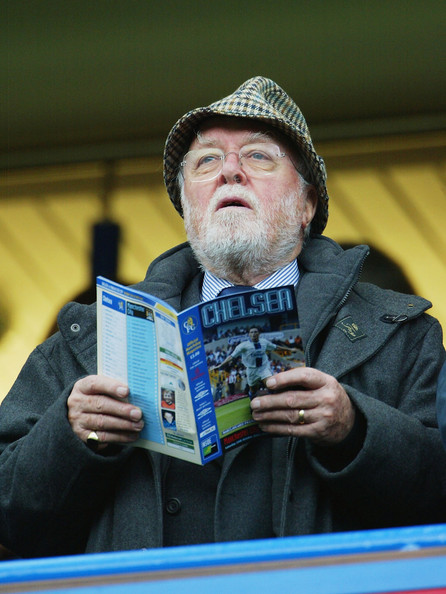 Dickie Attenborough was a lifelong Chelsea fan