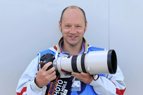 A photographer of sport: Marc Aspland