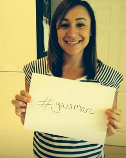 Olympic gold medal-winner Jessica Ennis sends her wishes to Aspland