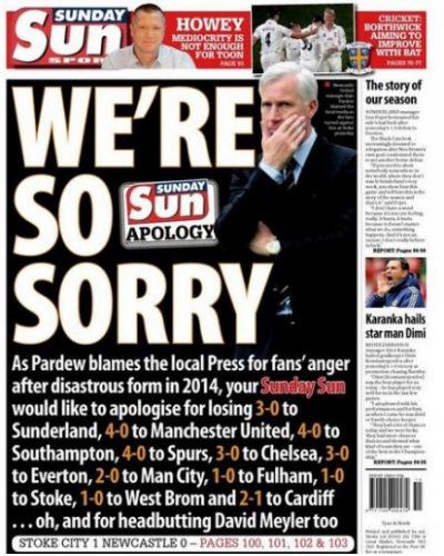 Sunday Sun page