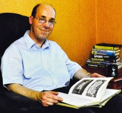 Andy Porter: the Spurs historian was a great help to football writers