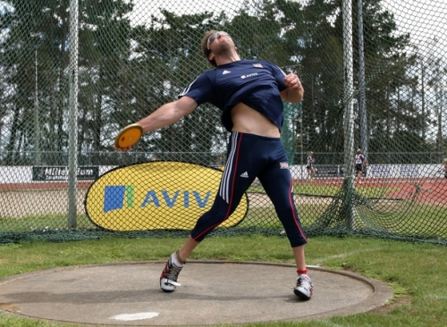 Dan Greaves: 14 years of discus achievement