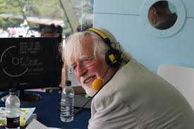 David Rayvern Allen: broadcaster and prolific author on cricket