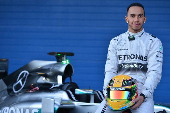 Driving force: Lewis Hamilton is on his way to a second F1 world title