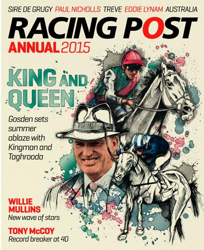 RACING POST ANNUAL 2015 COVER