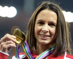 Jo Pavey: completing an athletes' hat-trick of the Sportswoman award