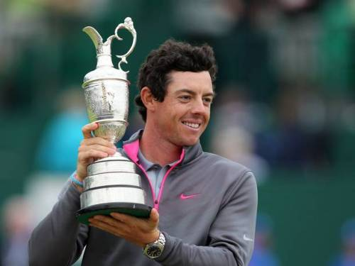 The SJA's 2014 Sportsman of the Year, Rory McIlroy