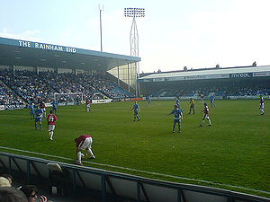 """""""Apparently, Priestfield looks like this"""", according to one local paper"""