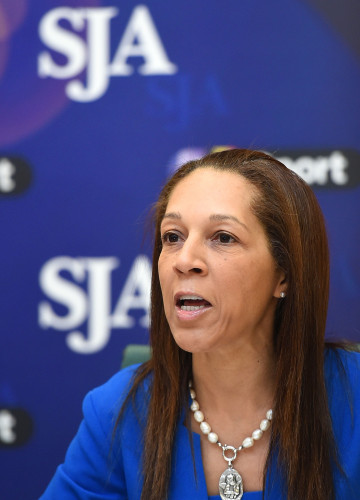 "Minister for Sport Helen Grant MP: ""You can't imagine the damage"" that racist abuse does to a person"