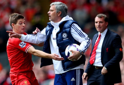 Carl Recine, of Action Images, captured this moment in Chelsea's match with Liverpool for his Sports Picture entry