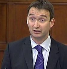 Question Time panel member John Leech MP
