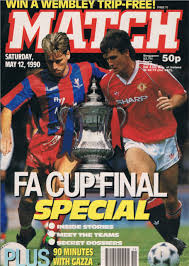 Match Magazine from 1990, when Paul Stratton was its editor and it enjoyed record sales