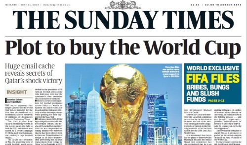 Scoop of the Year: the Sunday Times's Fifa files