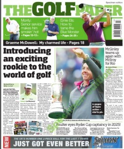 Golf Paper