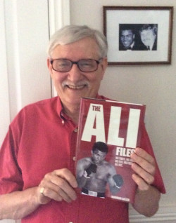 99 not out: Norman Giller with his latest book