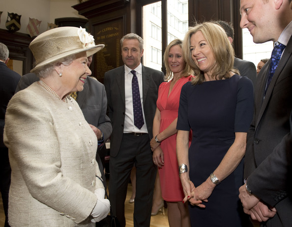 Queen Elizabeth II was the guest at a special 150th anniversary event of the Journalists' Charity staged last year
