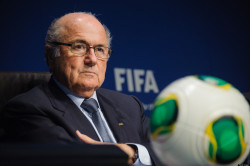 One lump or two? Tea with Sepp Blatter was not what Gerry Cox was expecting