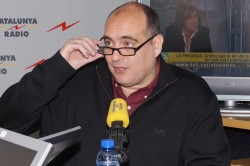 Conspiracy theorist? Catalan sports writer Xavier Bosch