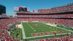 "The 49ers new stadium, which claims to be the ""best connected"" in the world"