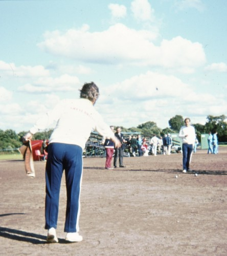 World Games sports included petanque. It did not attract large crowds