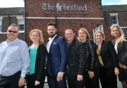 Sentinel's new team: commercial sponsors are helping to fund Stoke's local paper's coverage