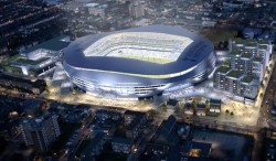 The new Lane, a £400m stadium likely to rival any in the Premier League. Even the Emirates