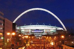 Looks good when lit-up. But some media have encountered wifi issues at Wembley