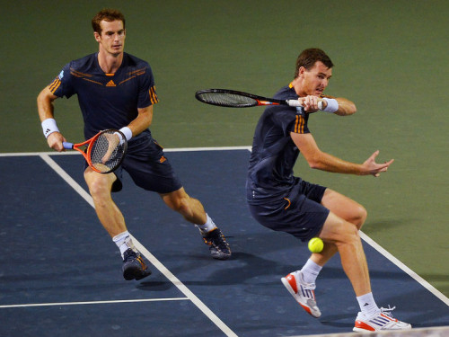 Minted Murrays: Andy and Jamie Murray proved a winning combination that won Britain the Davis Cup and them the SJA Team of the Year award