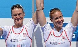 Four years unbeaten: Britain's leading rowing pairing