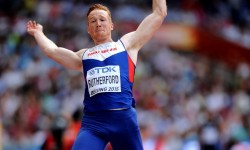 Champion of the world: Rutherford has reinforced his position as the world's No1 long jumper