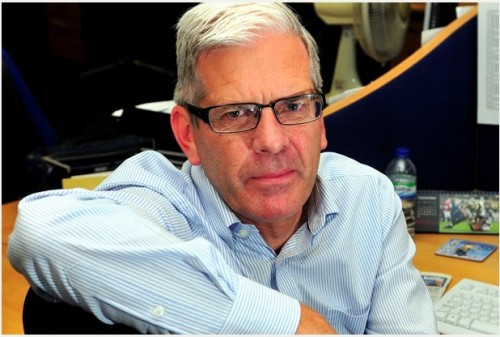 Steve Nicholson has had 30 memorable years at the Derby Telegraph