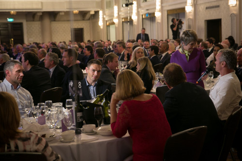 The ballroom at the Grand Connaught Rooms was packed throughout the awards lunch ... until some of our members had to leave to file on the news that Jose Mourinho had been sacked by Chelsea